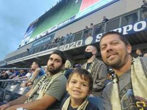 Dominic attended Philadelphia Union vs. Chicago Fire - MLS ** Military Appreciation Night ** on Aug 1st 2021 via VetTix