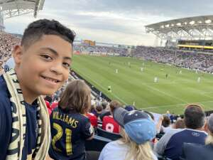 Wes attended Philadelphia Union vs. Chicago Fire - MLS ** Military Appreciation Night ** on Aug 1st 2021 via VetTix