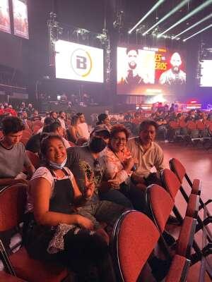 Danilo attended Bellator MMA on Jul 31st 2021 via VetTix
