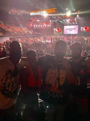 Esteban  attended Bellator MMA on Jul 31st 2021 via VetTix