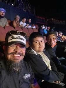 Adrian  attended Bellator MMA on Jul 31st 2021 via VetTix