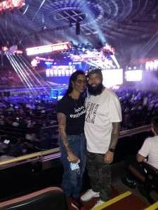 Marquis Brown attended Bellator MMA on Jul 31st 2021 via VetTix