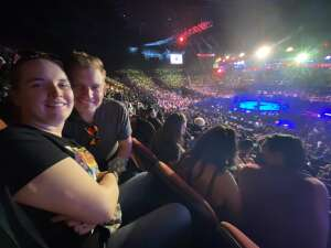 Amanda attended Bellator MMA on Jul 31st 2021 via VetTix