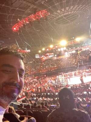Dame attended Bellator MMA on Jul 31st 2021 via VetTix