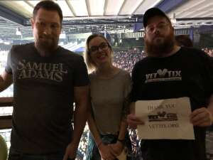 Jeff Hall attended New Kids on the Block on Aug 4th 2021 via VetTix