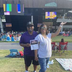O attended New Kids on the Block on Aug 4th 2021 via VetTix