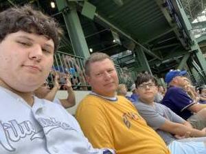 Ben attended Milwaukee Brewers vs. Cincinnati Reds - MLB on Aug 26th 2021 via VetTix