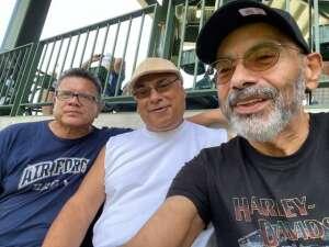 Rudy Ruiz attended Milwaukee Brewers vs. Cincinnati Reds - MLB on Aug 26th 2021 via VetTix