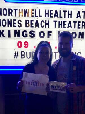 Euniverse attended Kings of Leon: When You See Yourself Tour on Sep 11th 2021 via VetTix