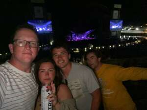Grady attended Kings of Leon: When You See Yourself Tour on Sep 11th 2021 via VetTix