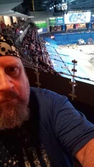 Mike C. attended Monster Jam on Aug 27th 2021 via VetTix