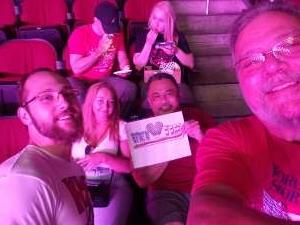 Mark Sofia  attended Premier Boxing Champions: Coffie vs. Rice on Jul 31st 2021 via VetTix