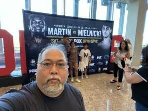 Evan Tajo attended Premier Boxing Champions: Coffie vs. Rice on Jul 31st 2021 via VetTix