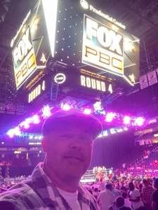 Anthony attended Premier Boxing Champions: Coffie vs. Rice on Jul 31st 2021 via VetTix