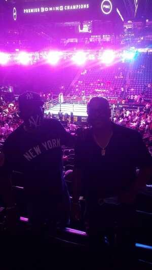 Mark B attended Premier Boxing Champions: Coffie vs. Rice on Jul 31st 2021 via VetTix