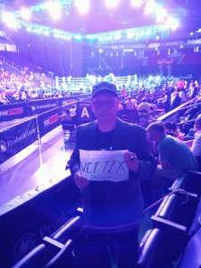 Ruben attended Premier Boxing Champions: Coffie vs. Rice on Jul 31st 2021 via VetTix