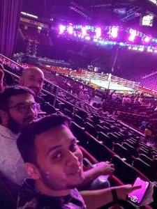 Joseph attended Premier Boxing Champions: Coffie vs. Rice on Jul 31st 2021 via VetTix