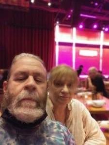 Vinny attended Andrew Dice Clay w/ Eleanor Kerrigan on Aug 1st 2021 via VetTix