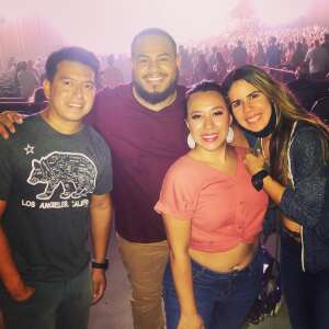 Angel Martinez attended Kings of Leon: When You See Yourself Tour on Aug 10th 2021 via VetTix