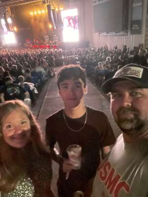 Dan Walker attended Kings of Leon: When You See Yourself Tour on Aug 10th 2021 via VetTix