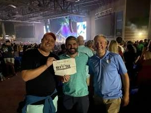 Charles attended Kings of Leon: When You See Yourself Tour on Aug 10th 2021 via VetTix