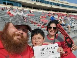 Click To Read More Feedback from Texas Tech Red Raiders vs. Stephen F. Austin Lumberjacks - NCAA Football