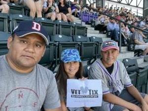 JDM attended Colorado Rockies vs. Arizona D-backs on Aug 22nd 2021 via VetTix