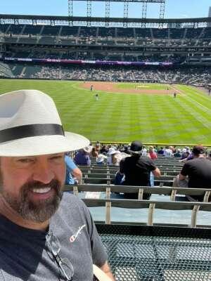 Brian B attended Colorado Rockies vs. Arizona D-backs on Aug 22nd 2021 via VetTix