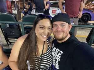 Adam attended Colorado Rockies vs. Arizona D-backs on Aug 22nd 2021 via VetTix