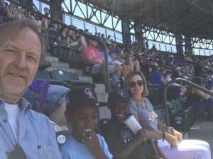 Chaplain Mike attended Colorado Rockies vs. Arizona D-backs on Aug 22nd 2021 via VetTix