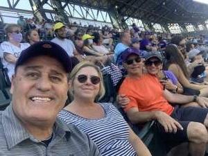 Jerry attended Colorado Rockies vs. Arizona D-backs on Aug 22nd 2021 via VetTix