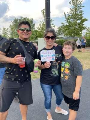 Santos Delgado attended Lindsey Stirling - Artemis Tour North America 2021 on Aug 20th 2021 via VetTix