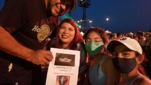 Lorenzo  attended Lindsey Stirling - Artemis Tour North America 2021 on Aug 20th 2021 via VetTix