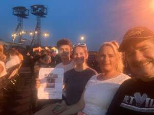 TIM attended Lindsey Stirling - Artemis Tour North America 2021 on Aug 20th 2021 via VetTix