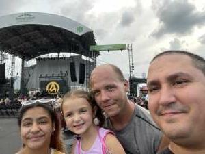 Ernesto T attended Lindsey Stirling - Artemis Tour North America 2021 on Aug 20th 2021 via VetTix