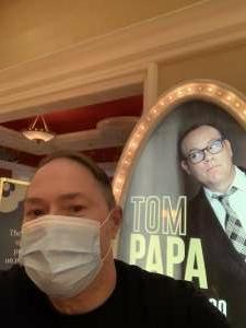 Denton attended Tom Papa Family Reunion Tour on Jul 30th 2021 via VetTix