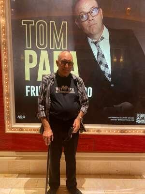 Chris Oelerich attended Tom Papa Family Reunion Tour on Jul 30th 2021 via VetTix
