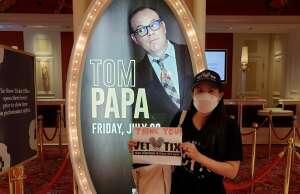 JDR attended Tom Papa Family Reunion Tour on Jul 30th 2021 via VetTix