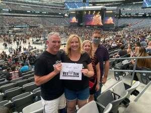 Jack and Jen attended Guns N' Roses 2021 Tour on Aug 5th 2021 via VetTix