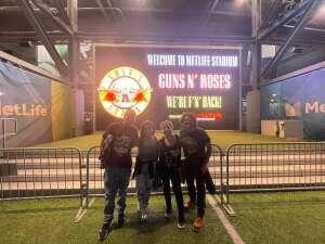 Danny B. attended Guns N' Roses 2021 Tour on Aug 5th 2021 via VetTix