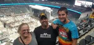 Vince attended Guns N' Roses 2021 Tour on Aug 5th 2021 via VetTix