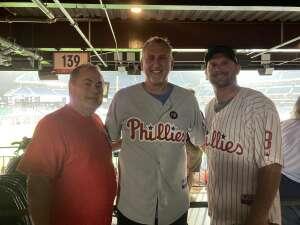 Steve Z attended Philadelphia Phillies vs. Los Angeles Dodgers - MLB on Aug 10th 2021 via VetTix
