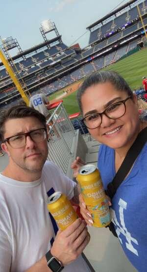 Gurley attended Philadelphia Phillies vs. Los Angeles Dodgers - MLB on Aug 10th 2021 via VetTix