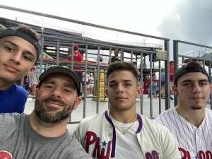 Bob attended Philadelphia Phillies vs. Los Angeles Dodgers - MLB on Aug 10th 2021 via VetTix
