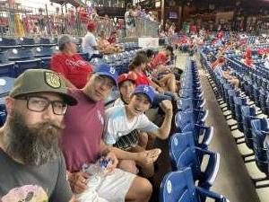 Scott osborn attended Philadelphia Phillies vs. Los Angeles Dodgers - MLB on Aug 10th 2021 via VetTix