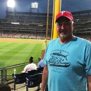 T. Podorsky attended Philadelphia Phillies vs. Los Angeles Dodgers - MLB on Aug 10th 2021 via VetTix