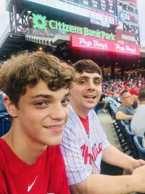 Missy attended Philadelphia Phillies vs. Los Angeles Dodgers - MLB on Aug 10th 2021 via VetTix