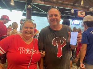 Jason attended Philadelphia Phillies vs. Los Angeles Dodgers - MLB on Aug 10th 2021 via VetTix