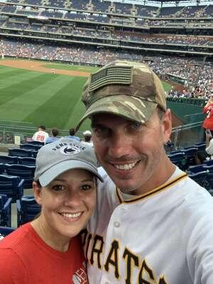 Scott Thomson attended Philadelphia Phillies vs. Los Angeles Dodgers - MLB on Aug 10th 2021 via VetTix