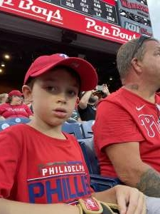Shawn attended Philadelphia Phillies vs. Los Angeles Dodgers - MLB on Aug 10th 2021 via VetTix